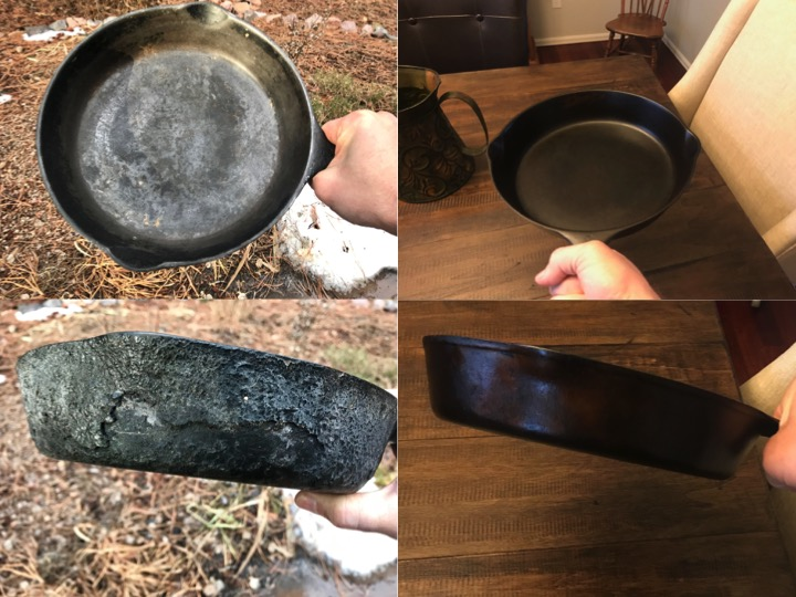Cast Iron Restore and Seasoning
