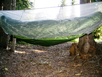 mirage u0027s bug  with shockcord photo from mirage u0027s page just jeff u0027s hammock camping page  rh   tothewoods