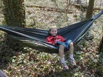 just jeff u0027s hiking page    just jeff u0027s homemade gear   kids hammock  rh   tothewoods