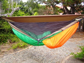 jrb underquilt on a hennessy pack cover   gear hammock attached just jeff u0027s hammock camping page  rh   tothewoods