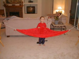 kid u0027s hammock just jeff u0027s homemade gear   kids hammock  rh   tothewoods
