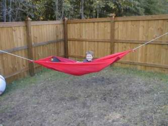how do i make my own hammock  just jeff u0027s hammock camping page  rh   tothewoods